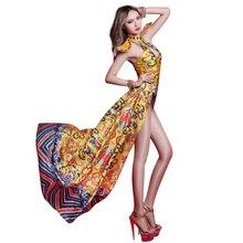 54da2cc46b Gold Danger Dress Bodysuit Prom Party Nightclub Bar Club Ds Costume Vintage  Royal