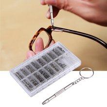 Лидер продаж 1000 шт. Нержавеющаясталь микро очки солнцезащитных смотреть очки телефона Tablet винты, гайки отвертка Наборы инструмент для ремонта