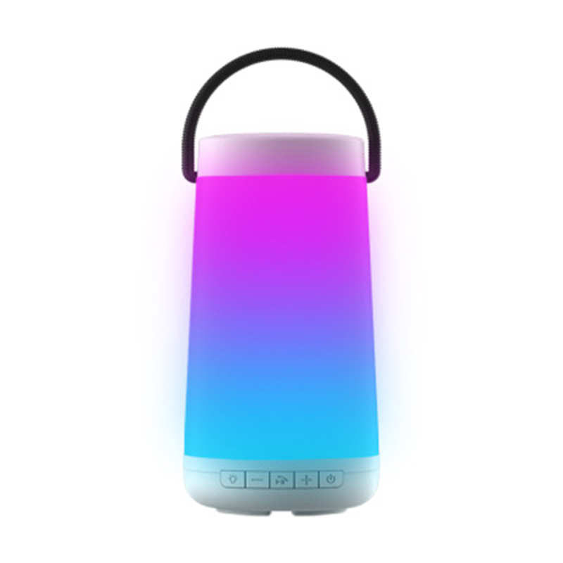 Bluetooth Speaker Lamp Wireless Bluetooth Portable Stereo Speaker Power Bank Support TF Card with Mic Hands