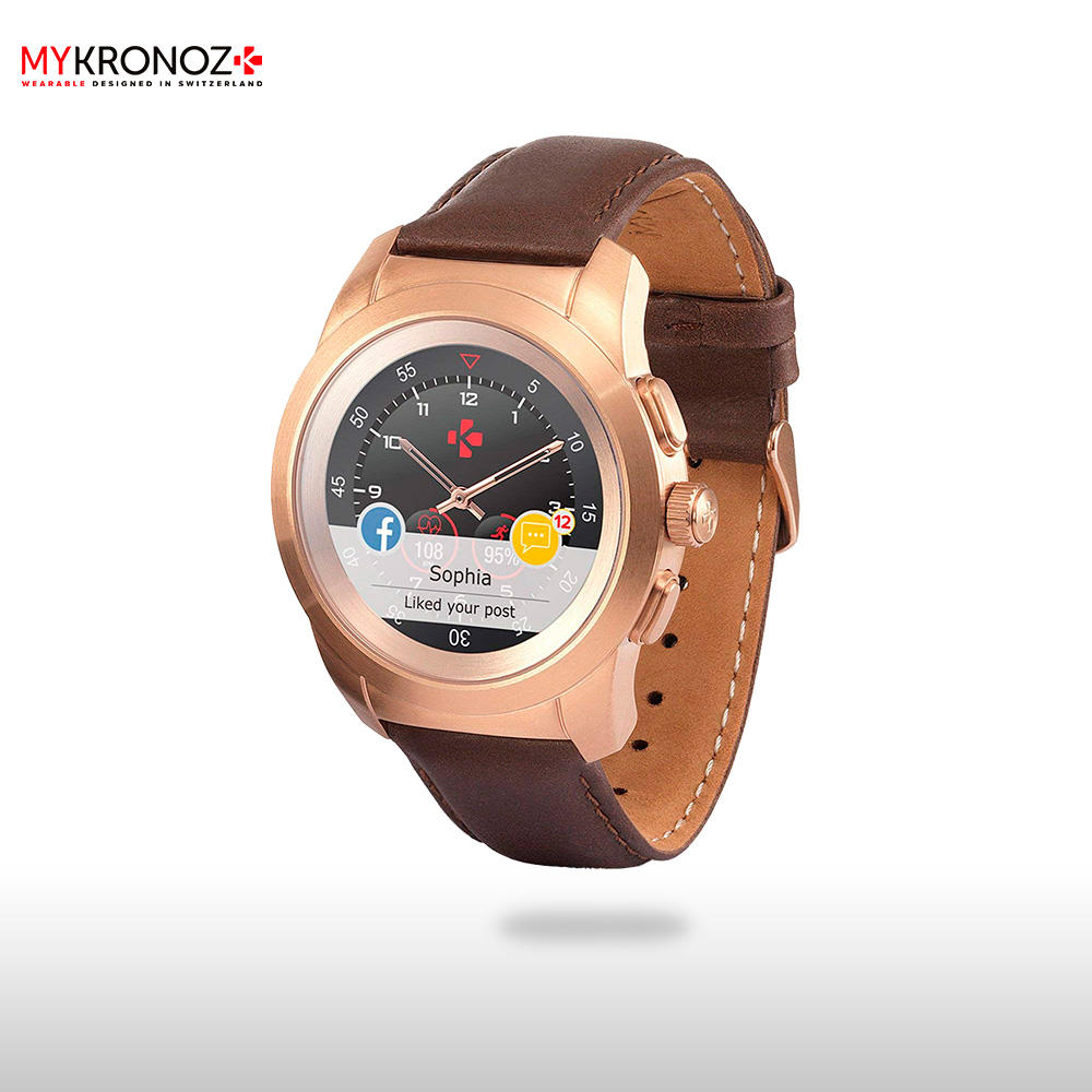 Smart Watches MyKronoz ZETIPRPN wearable devices wrist watch accessories top brand luxury rhinestone bracelet wrist watch women watches rose gold women s watches ladies watch clock saat bayan kol saati