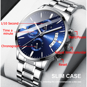 Image 3 - Mens Watch Luxury Brand BELUSHI High end Man Business Casual Watches Mens Waterproof Sports Quartz Wristwatch relogio masculino