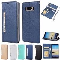 BINUODA Note 8 Phone Case High Quality 2 In 1 Detachable Flip Folio PU Leather Wallet
