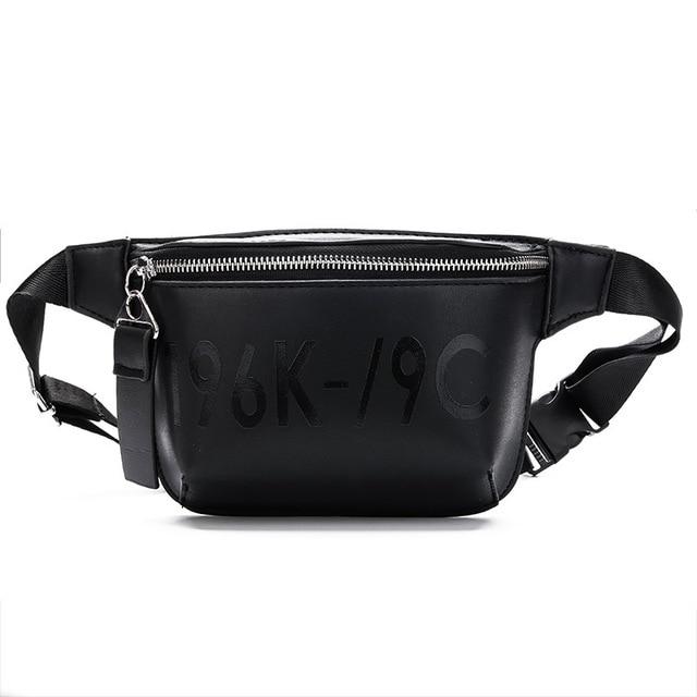 Fanny Pack For Women Belt Bag Female Waist Bag Black Leather Waist Packs  Crossbody Bags Women Money Belt Bum Bag Fanny Packs