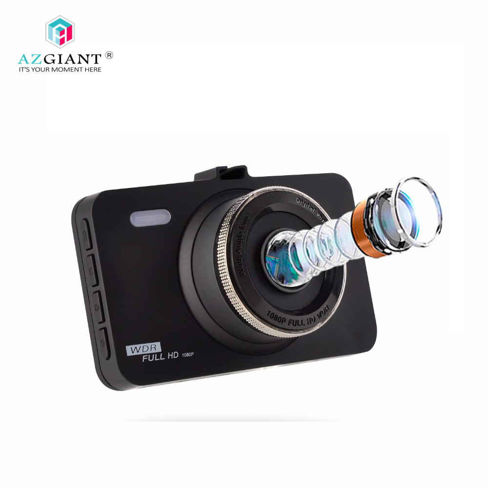 AZGIANT HD 1080P Car Dash Cam Portable DVR Sony Sensor Loop Recording 8GB SD Card Included DT-80 Driving recorder ...