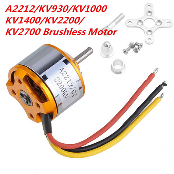цена на Piece A2212 930KV 1000KV 1400KV 2200KV 2700KV Brushless Motor for RC Quad rotor Multicopter Aircraft Drone motor