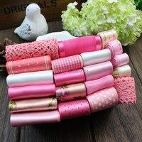 pink Ribbons ribbon handmade bow hair accessory hair accessory hairpin diy material bundle kit set