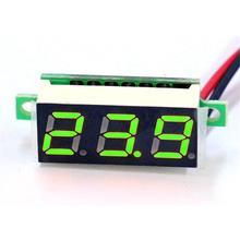 DC 0-100V LED Panel Digital Voltage Volt Meter Display Voltmeter Motor Car Auto