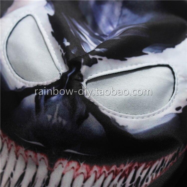 Hero Catcher Máscara venenosa de alta calidad Negro Spiderman - Disfraces - foto 3