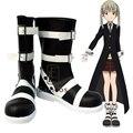Anime Soul Eater Maka Albarn Boots Cosplay Halloween Party Shoes Custom Made