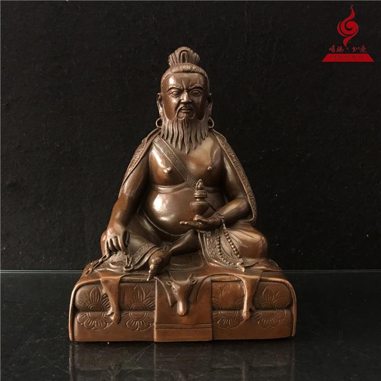 Tang Dongjiabo Rinpoche 17.5 cm buda heykeli ev dekorasyonuTang Dongjiabo Rinpoche 17.5 cm buda heykeli ev dekorasyonu