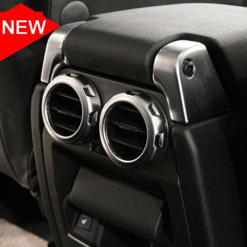 ABS Arrière de Voiture Sortie D'air de Ventilation Anneau Autocollant Pour Land Rover Découverte 4 LR3 Pour Range Rover Sport 2009- 2016 Voiture Accessoires 2 pcs