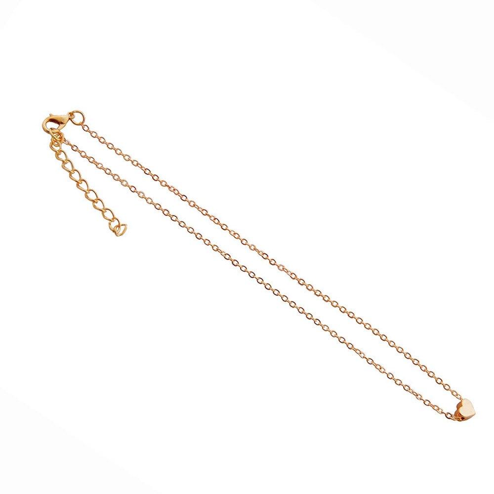 Cristal coeur feuille lune pendentif collier femmes romantique mode classique strass dames fille vacances plage déclaration bijoux 6