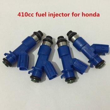 Sets of 8 pcs GENUINE 410cc RDX Fuel Injector 16450RWCA01 16450-RWC-A01 for Acura Honda Civic RDX Integra RSX K20 K24 B16 B18