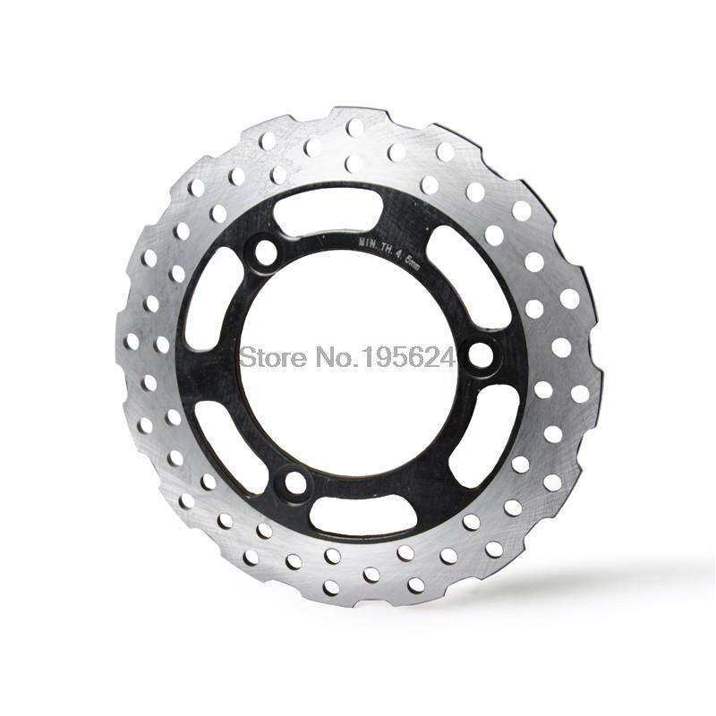 Drilled Rear Brake Disc Rotor for Kawasaki Ninja 250R ABS 2008 2009 2010 2011 2012 Motorbike Rear Brake Disc Rotor car rear trunk security shield shade cargo cover for nissan qashqai 2008 2009 2010 2011 2012 2013 black beige