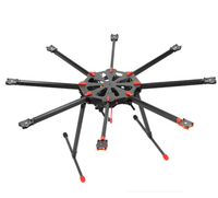 F11270 Tarot X8 TL8X000 8 axle Octocopter Umbrella Type Folding Frame Multicopter Electronic Retractable Landing Skid for FPV
