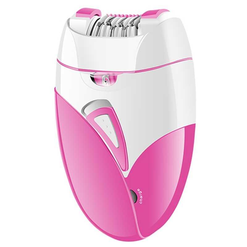 Depiladora eléctrica recargable Surker 100-240V para mujeres, depiladora femenina para eliminación De vello facial, depiladora De Bikini, recortadora De piernas