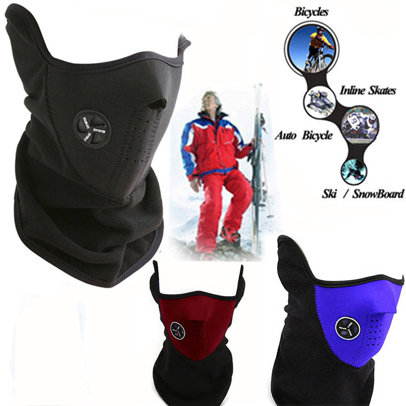 e5bdb292617 New 3 Colors Bike Motorcycle Ski Snowboard Neck Warmer Face Mask Veil Cover  Sport Snow Mask-in Masks from Beauty   Health on Aliexpress.com