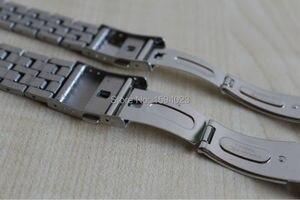 Image 5 - 19mm T033410A 14mm T033210 Nieuwe Horloge Onderdelen rvs armband riem Horloge Bands Voor T033 Gratis Verzending
