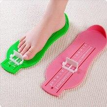 Регулируемая шкала размер обуви длина стопы линейка детские ноги измерительный инструмент Длина стопы ребенка и запись процесса роста