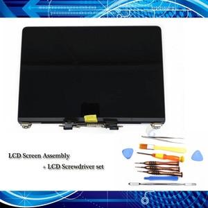 "Image 1 - Original New Full Display Assembly + Screwdriver Set for Macbook Pro Retina 13"" A1706/A1708 LCD Screen Grey/Silver EMC 3071"