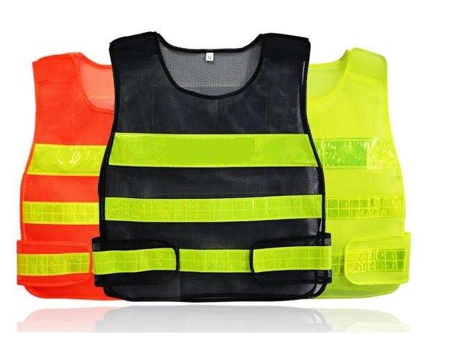 Safety Clothing Pvc Reflective Tape Safety Reflective Vest Highways Sanitation Reflective Mesh Vests