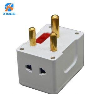 Image 3 - Южная Африка большой круглый 3 Pin AC Power Электрический штекер дорожный адаптер для США, ЕС, Великобритании, Австралии адаптер розетка адаптер предохранитель 15A
