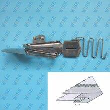 CoverStitch Machine Binder Double Fold Binding Attahchment For Flatbed Machine KP 104 1 1 2 7