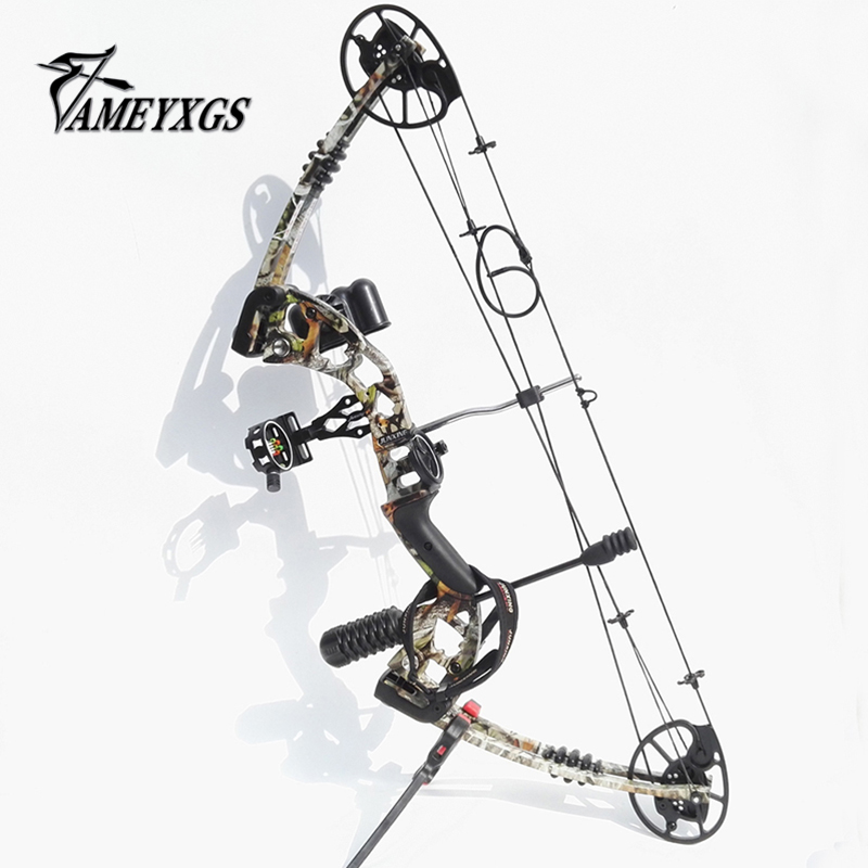 купить 1 Set 30-70lbs Archery Compound Bow Hunting Right Hand Compound Bow Set Stabilizer Bow Sight Bow Accessories Outdoor Sports по цене 26243.64 рублей