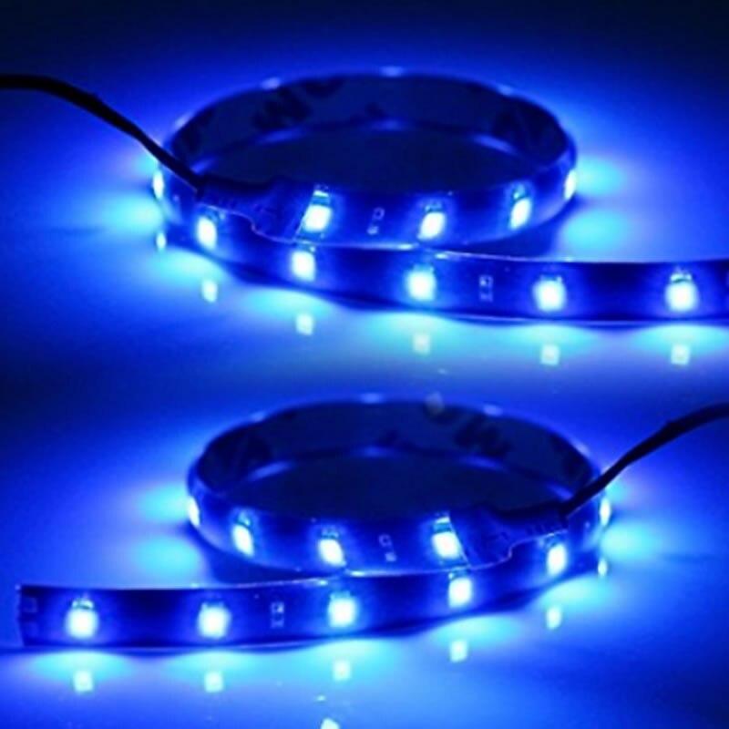 2x iluminación LED de navegación para barcos 12V CC, rojo/Verde/azul/blanco/amarillo, tiras LED marinas impermeables