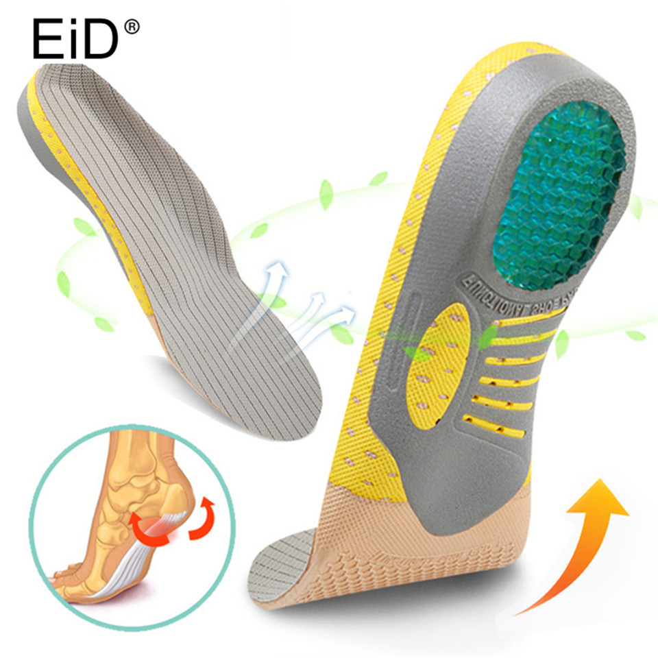 Shoe Accessories Eid Silicone Gel Insoles For Arch Orthopedic Insole Foot Care For Plantar Fasciitis Heel Spur Sport Shoe Pad Insoles Insert Shoes