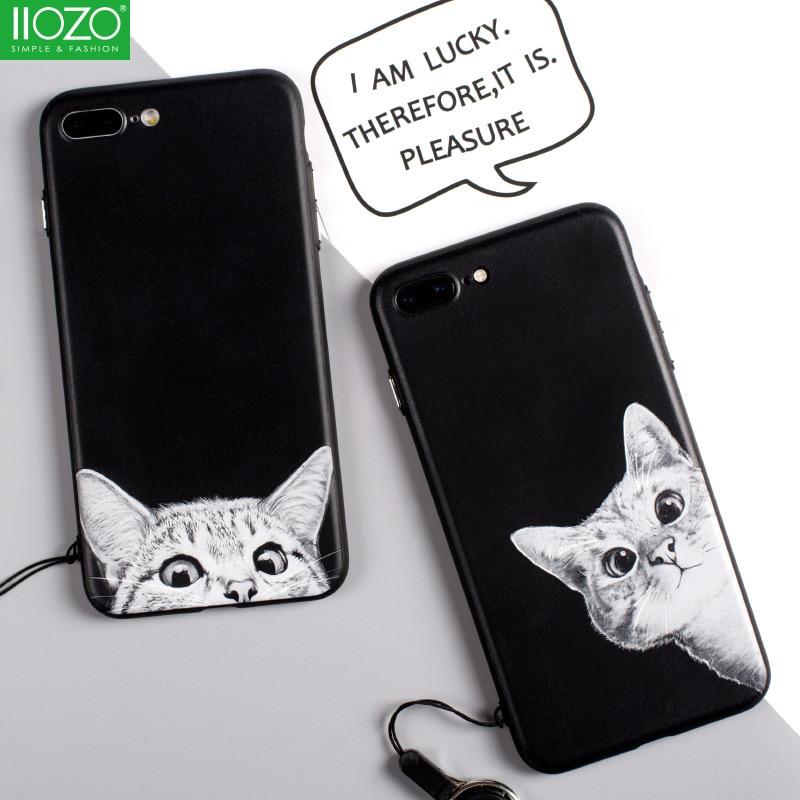 Πολυτελές 3D Relief Cartoon Animal Phone Θήκες για - Ανταλλακτικά και αξεσουάρ κινητών τηλεφώνων - Φωτογραφία 2