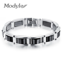 2020 Fashioin Man Health-Care Hematite Bracelets Fashion Trendy Black Stainless Steel Men Jewelry Wholesale Price