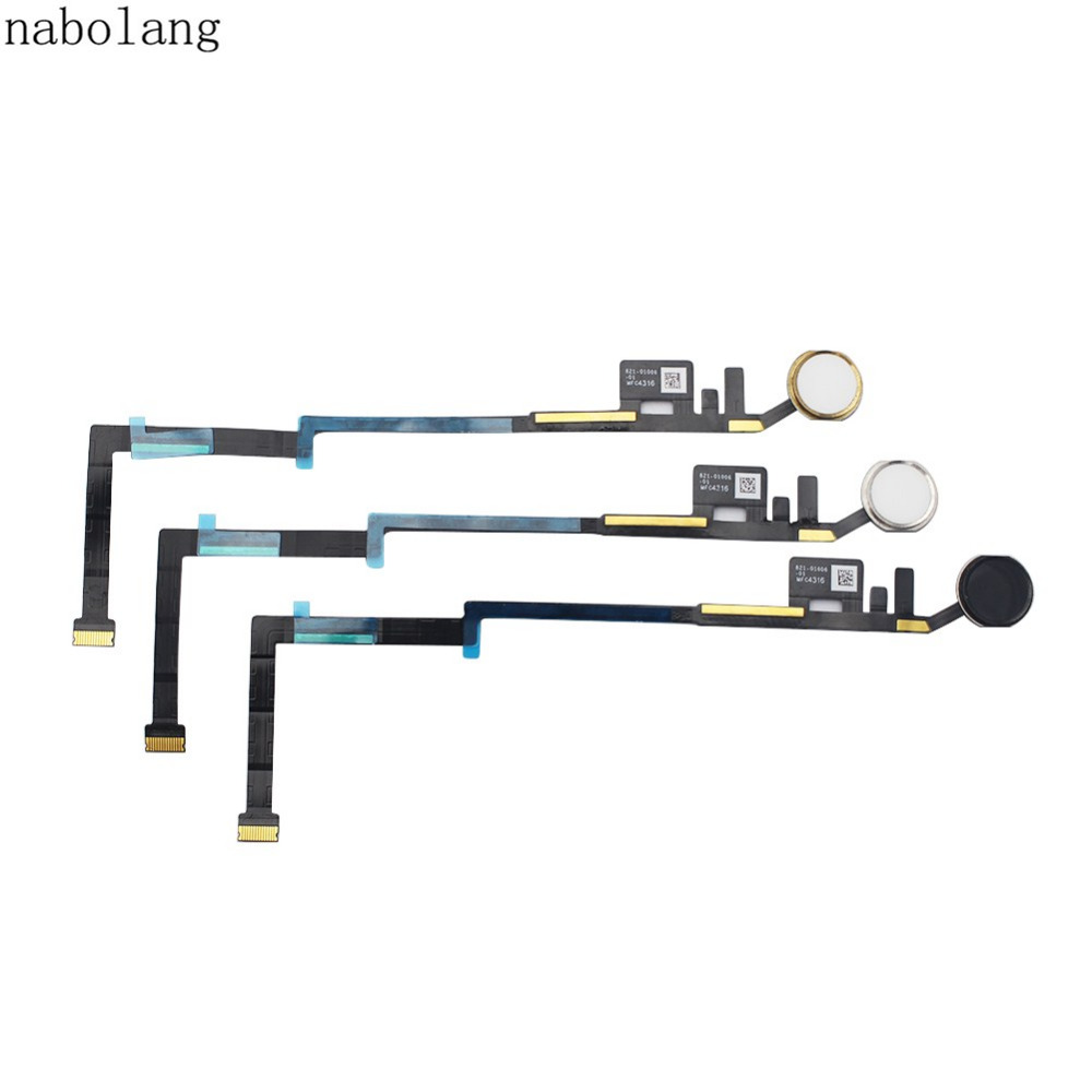 For iPad Pro 10.5' Home Button Fingerprint button Flex Cable without Touch ID Replacement parts For ipad pro 10.5 inch 2017 гибкий кабель для мобильных телефонов for ipad 5 ipad 5 flex dhl ems home key button flex cable