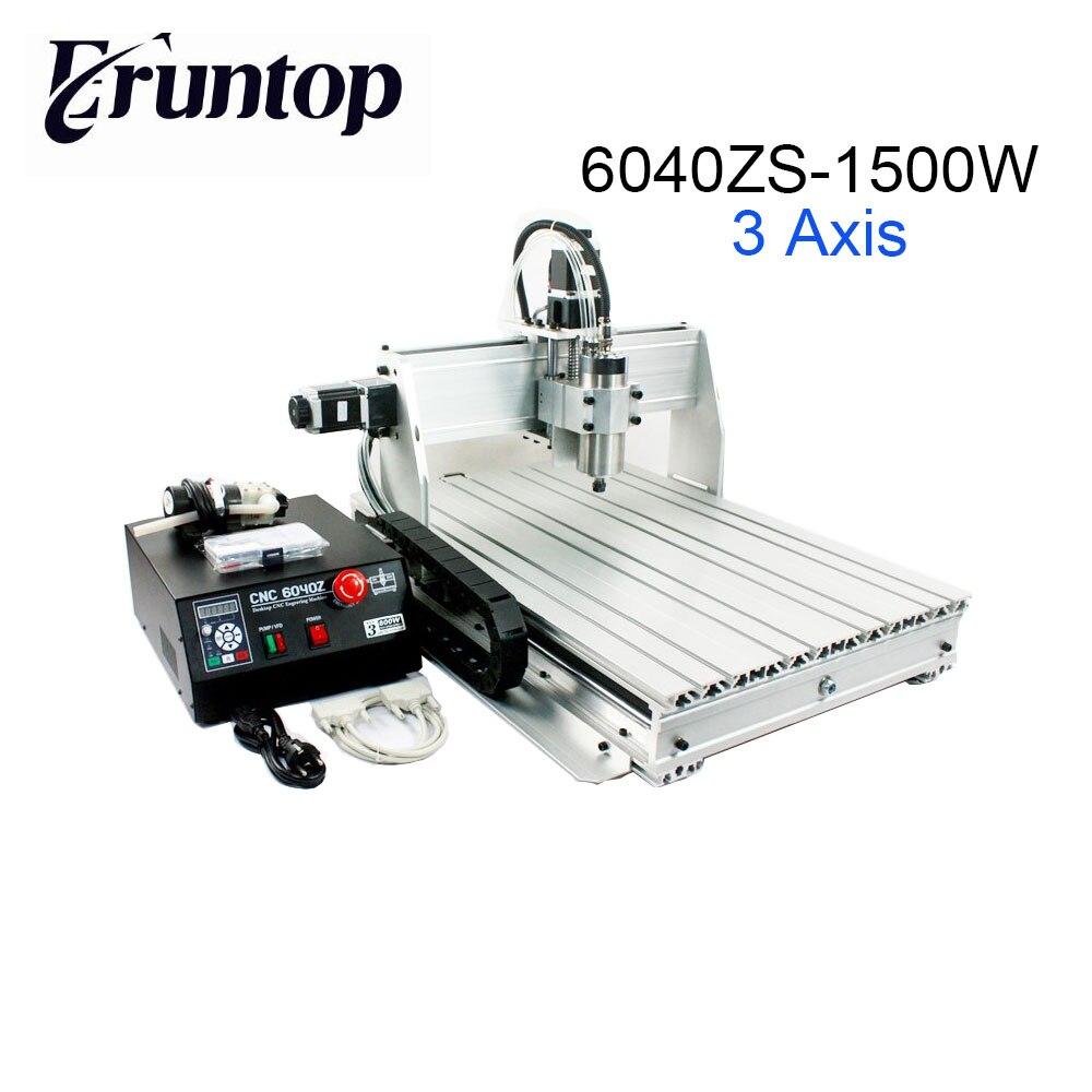 220V/110V New 6040 1500W CNC Router Engraver Engraving Machine