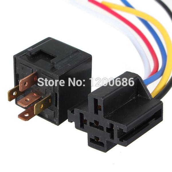 24v Relay Wiring Diagram 5 Pin 94 Honda Accord Engine 30 40 A Amp 5p Automotive Harness Car Auto Socket