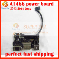 Original For Apple Macbook Air A1466 A1369 I O DC Audio Jack Power Board Power Panel