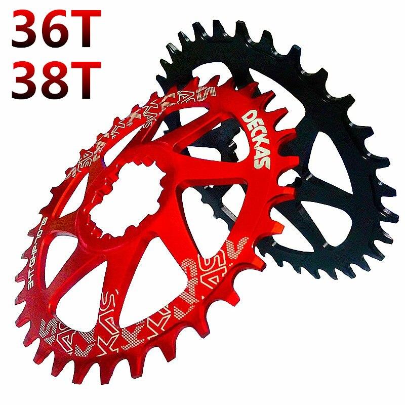ФОТО Bicycle Narrow Wide Crankset Round Chainwheel Chain ring 36T 38T For SRAM GXP XX1 XO1 X1 GX XO X9 Bicycle crankset mtb part