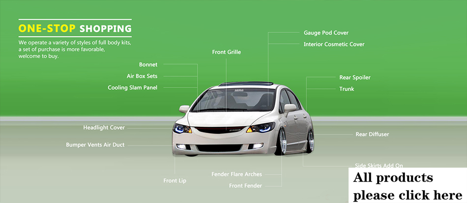 For Civic FD2 FRP Fiber Glass BYS Dash Mount Gauge Pod (RHD