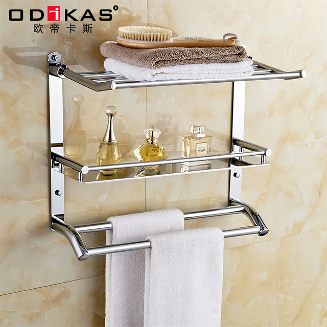 rvs handdoekenrek handdoekenrek badkamer accessoires badkamer ...