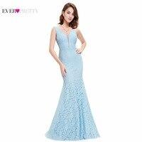 Prom Dresses Fast Shipping Mermaid Prom Dress Ever Pretty HE08838 2016 Fashion Sexy Trumpet Mermaid V