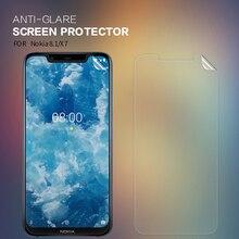 For Nokia 8.1/ x7 Anti-glare Screen Protector NILLKIN Matte Anti-fingerprint Protective Film For Nokia 8.1 x7 Soft PC Matte Film цены