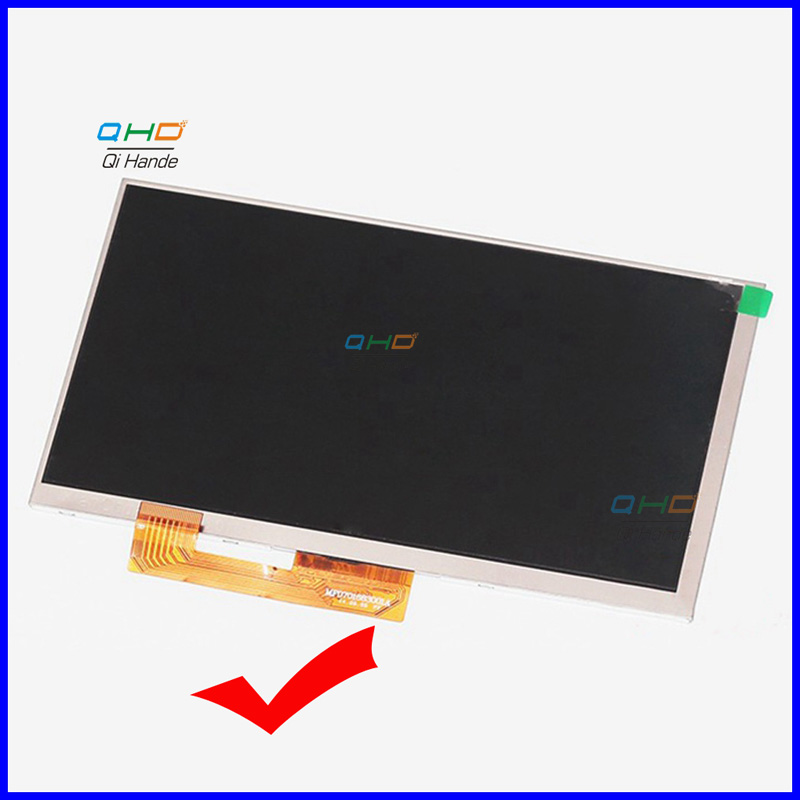 New 164* 97mm 30 pin LCD display Matrix For 7 Explay Hit 3G Tablet inner TFT LCD Screen Panel Lens Module Glass Replacement