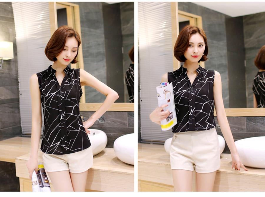 sleeveless shirt women  (2)