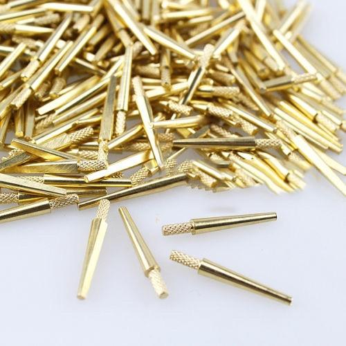 1000PCS DENTAL LAB BRASS DOWEL PINS #2 MEDIUM MOLD SUPPLIES 22mm 100 pcs stainless steel 2 9mm x 15 8mm dowel pins fasten elements