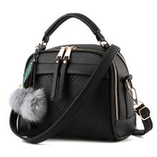 2016 winter shell tassel women messenger bags leather handbags female small flap bag women shoulder crossbody bags