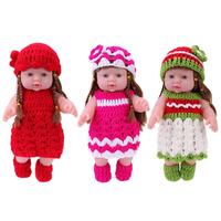 Newborn Baby Shower Changeable Clothes Doll Toy Gift Household Training Girls Birthday Gift Caual Accessories