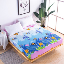 Polyester Breathable Mattress Cover 100% Waterproof Mattress Protector Bed Bug Proof Dust Mite Mattress Pad Cover for Mattress