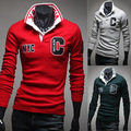 Trade hot Foreign long sleeved eBay purchasing polo shirt c letter fashion long sleeve 141330