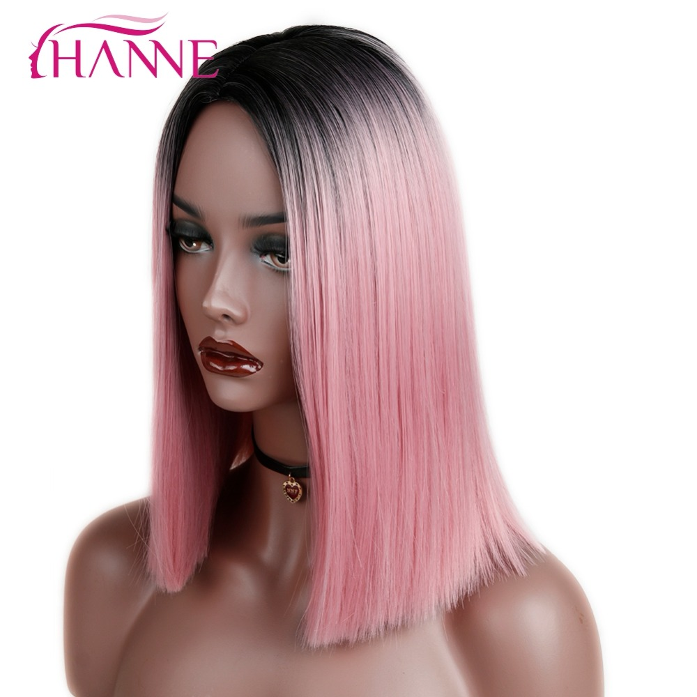 synthetic straight wig02