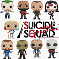 Funko POP Figura de Deadshot TIRO DEAD Harley Quinn Joker Comando Suicida Figura 10 CM VINILO Figura de Acción de Muñeca Juguetes Para Niños regalo